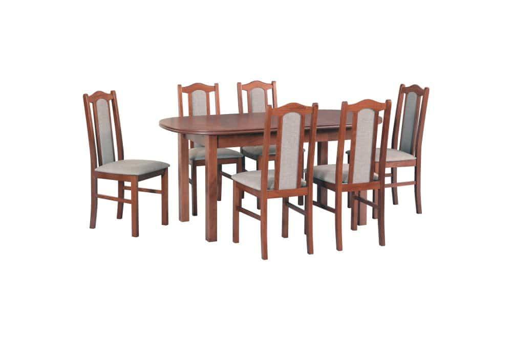 12cbdd101913a Stół WENUS III 80/160/200 + 6 krzeseł BOSS II - Internetowy sklep ...