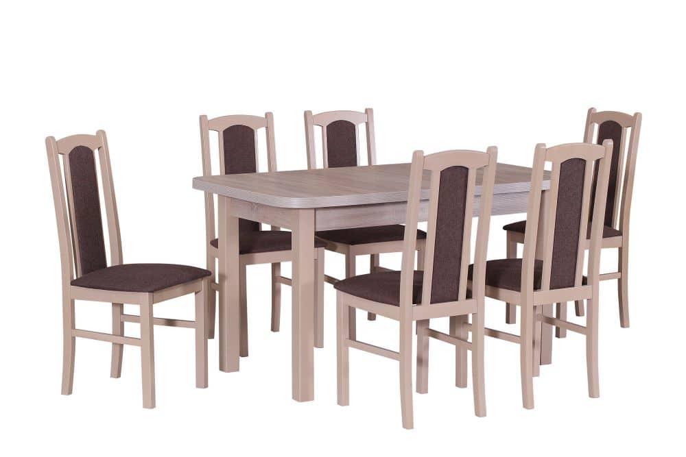 82093429dc366 Stół WENUS 2 L - 80/140/180 + 6 krzeseł BOS 7 - Internetowy sklep ...